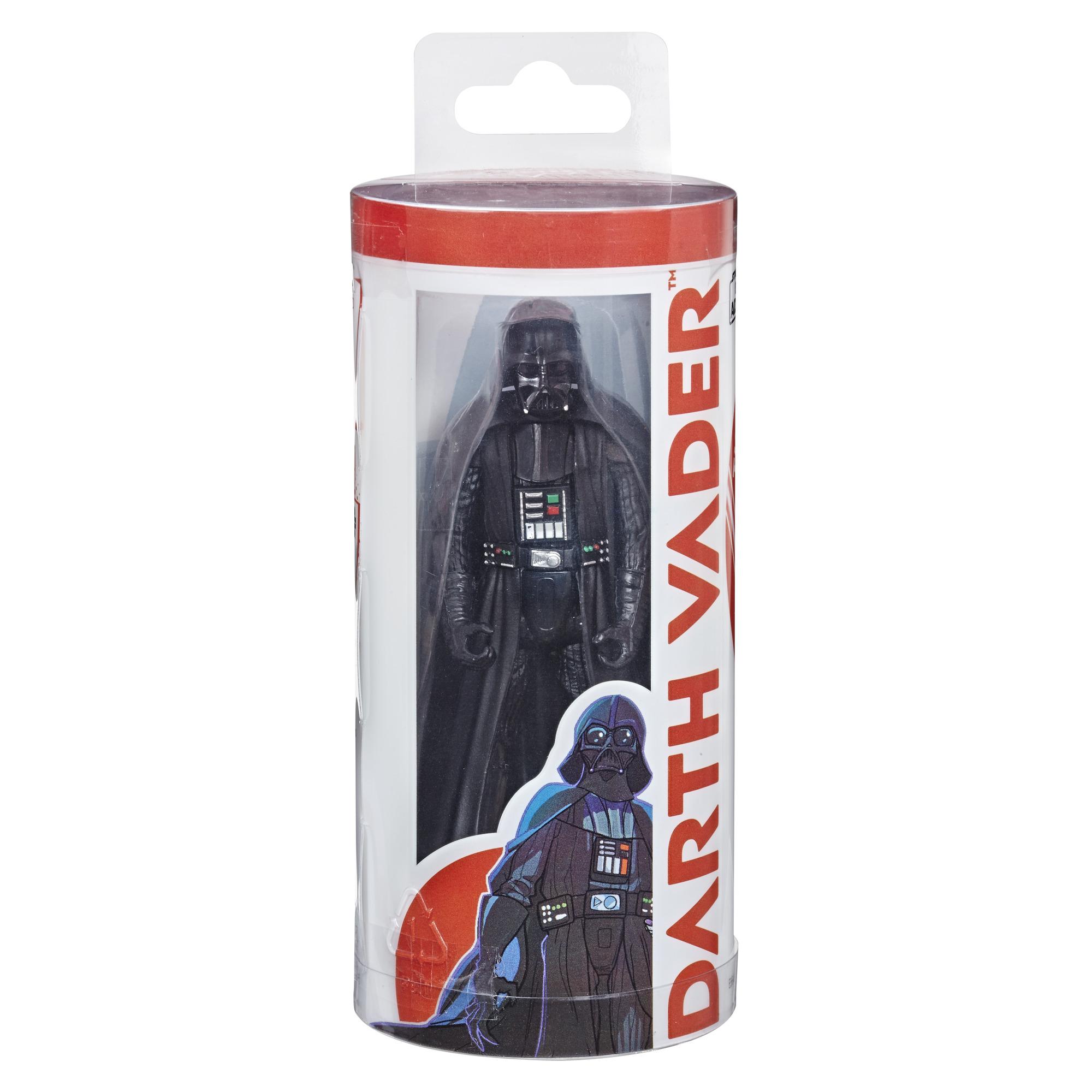 SW Galaxy of Adventures Darth Vader Figure and Mini Comic Set 1