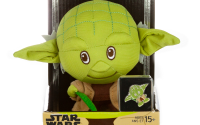 New Star Wars Yoda Plush Toy & Pin Set available for pre-order!