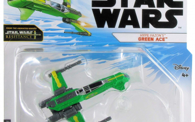 New Star Wars Resistance Hype Fazon's Green Ace Starship available!