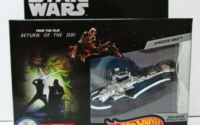 New Star Wars Commemorative Series Speeder Bike Starship Toy in stock!