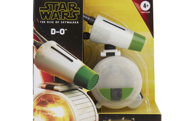 New Rise of Skywalker D-O Spark & Go Toy available now!
