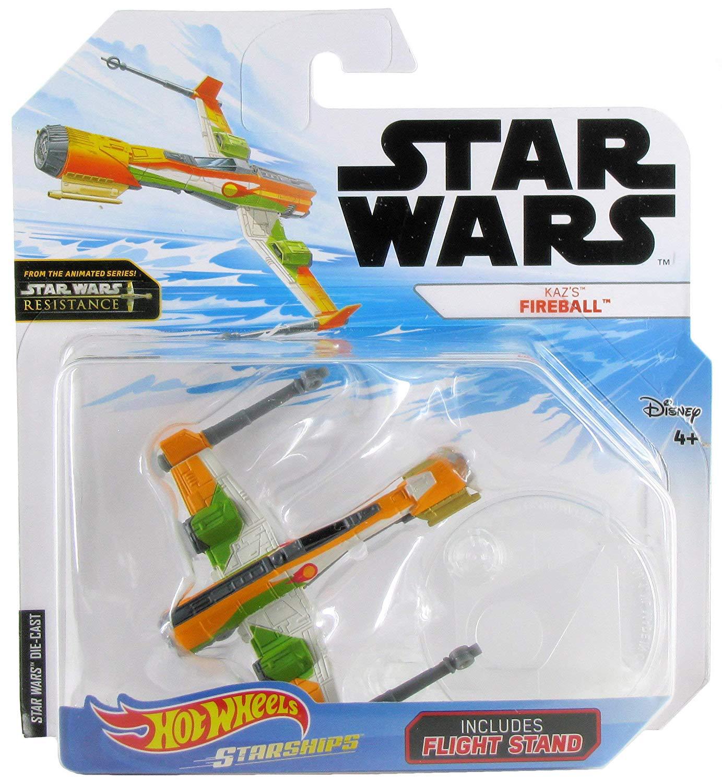 SWR HW Kaz's Fireball Ship Toy 1