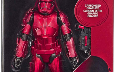 New Rise of Skywalker Black Series Carbonized Sith Trooper Figure available!