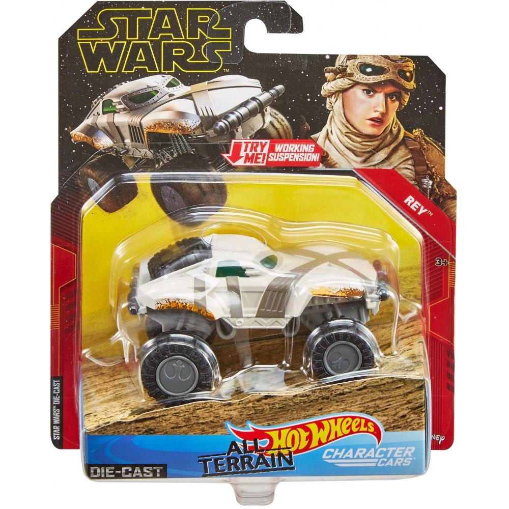 New Rise Of Skywalker Hot Wheels Rey All Terrain Character Car In Stock
