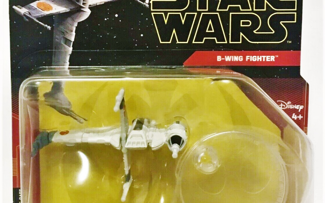 New Rise Of Skywalker Hot Wheels B Wing Fighter Starship In Stock