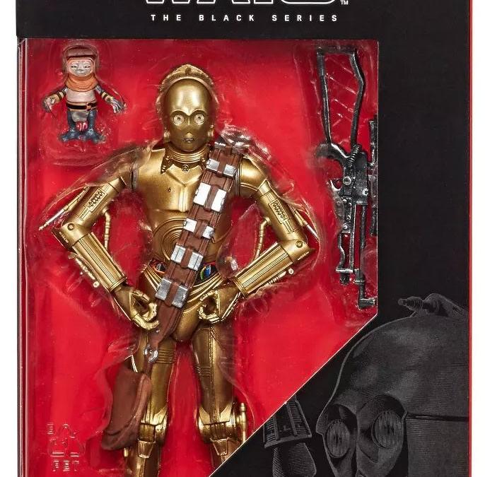 New Rise of Skywalker C-3PO & Babu Frik Black Series Figure Set in stock!