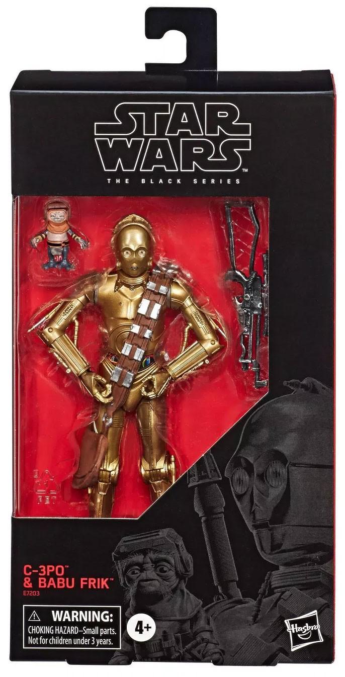 TROS C-3PO & Babu Frik BS Figure Set 1