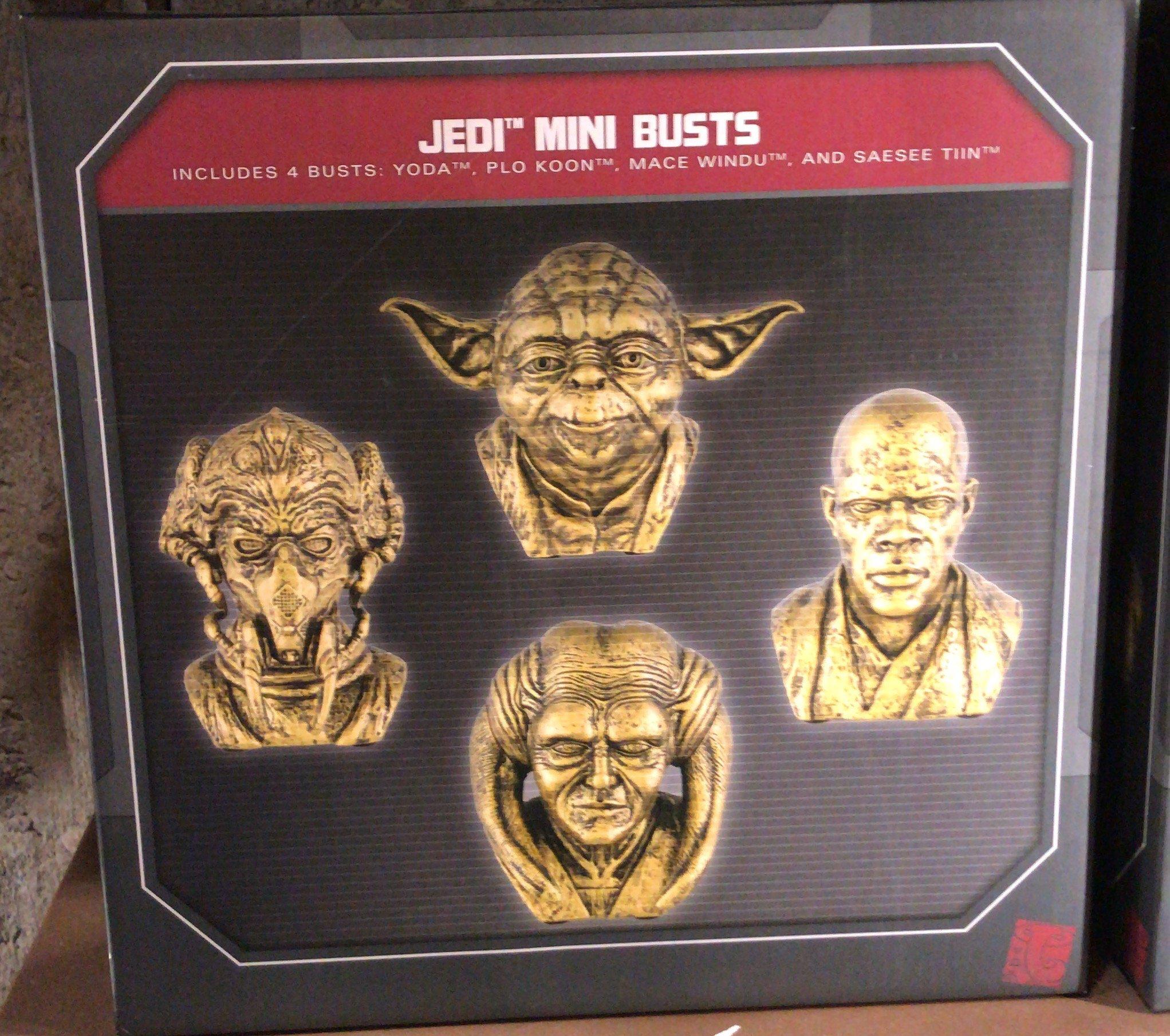 SWGE Jedi Mini Bust 4-Pack
