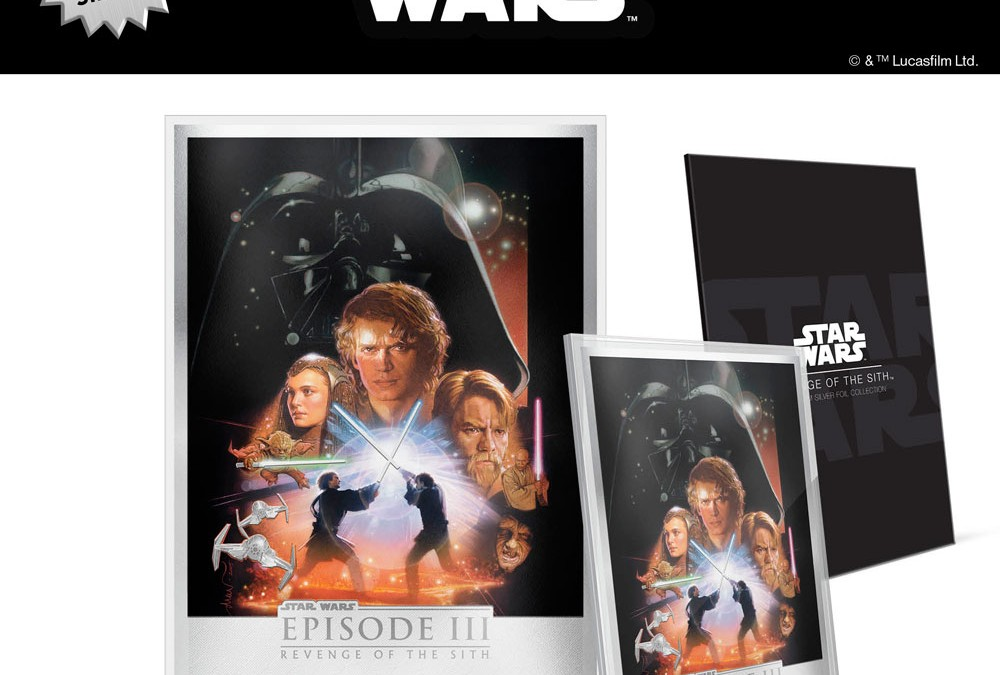 New Revenge of the Sith Silver Foil available for pre-order!