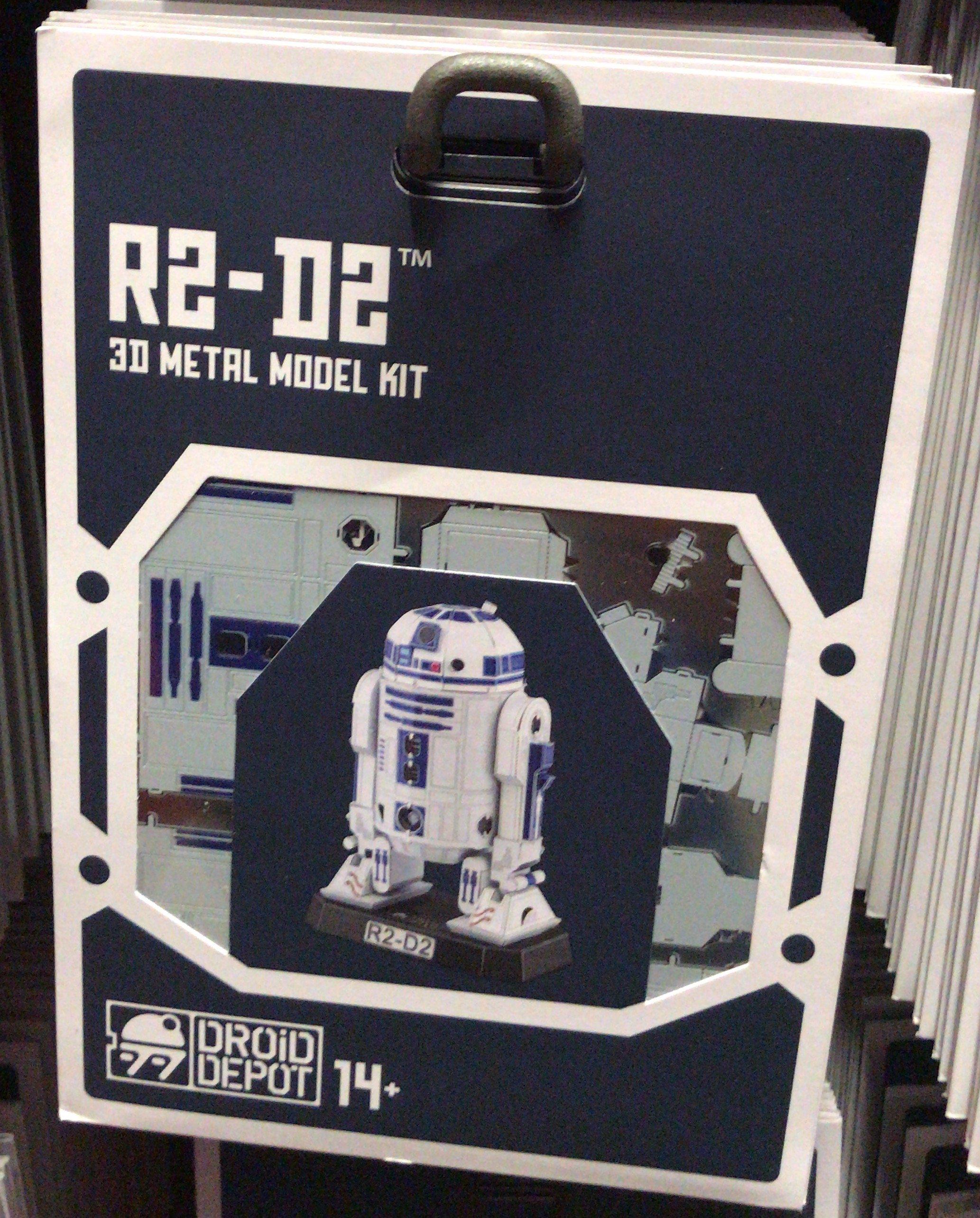 SWGE R2-D2 DF 3D Metal Model Kit 1