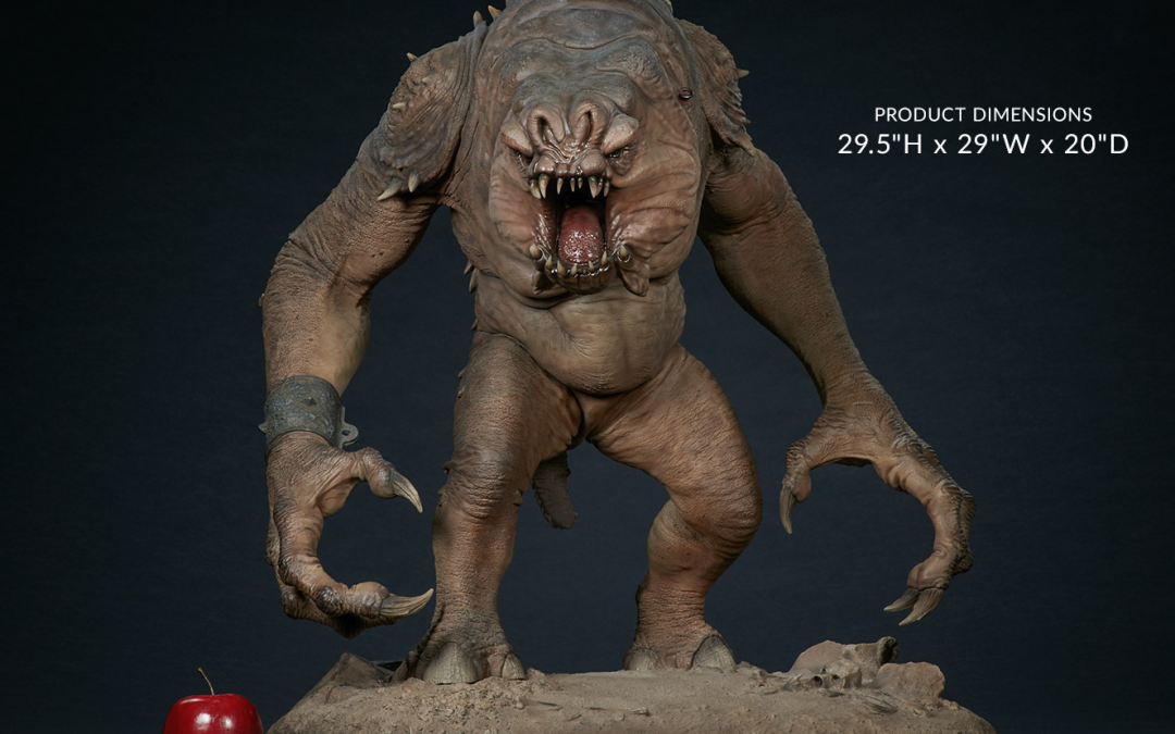 New Return of the Jedi Rancor Deluxe Statue available for pre-order!