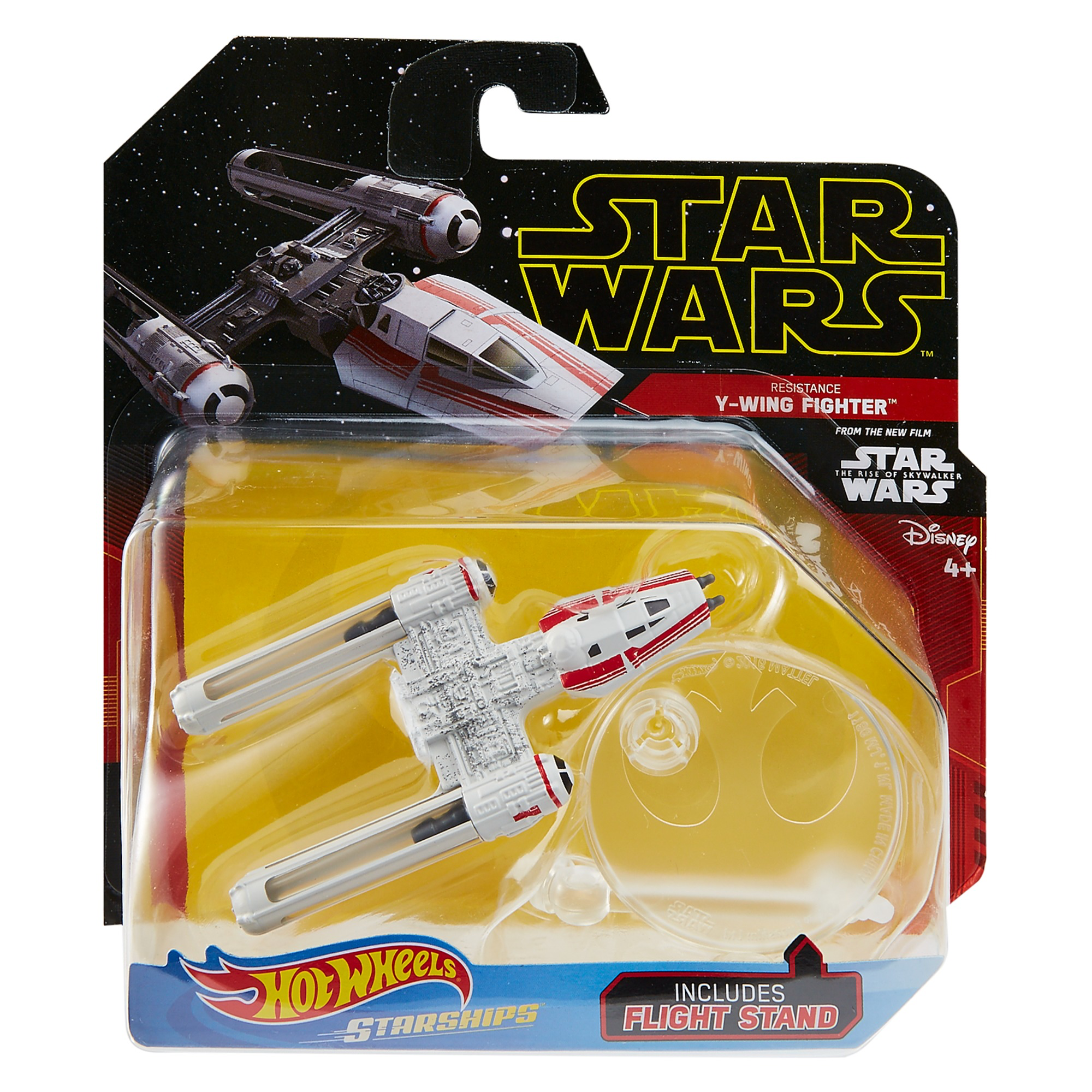 New Rise Of Skywalker Hot Wheels Resistance Y Wing Starship Available