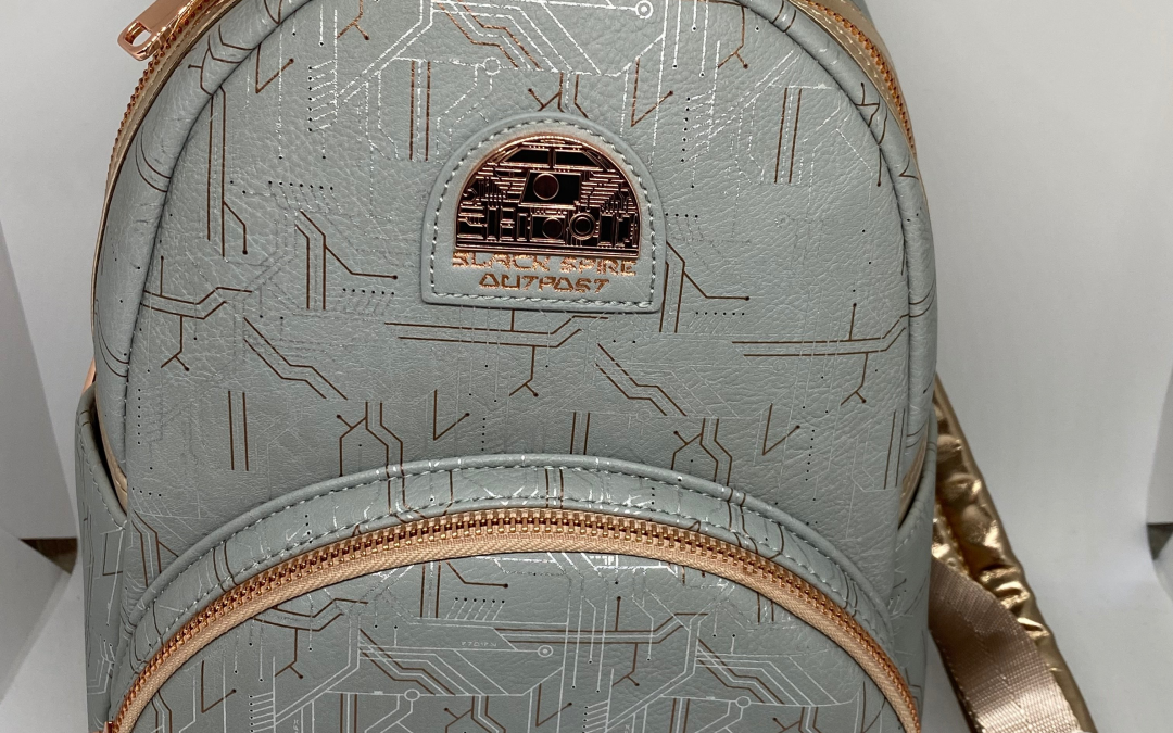 New Galaxy's Edge Black Spire Outpost Mini Backpack available!