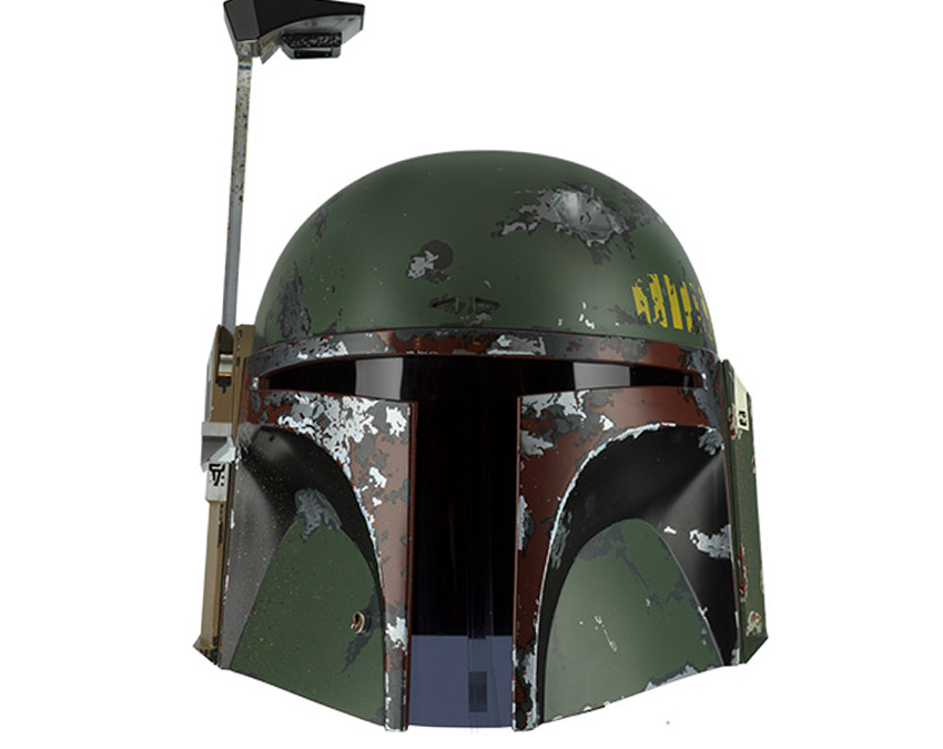 New Star Wars Boba Fett Precision Crafted Helmet available for pre-order!