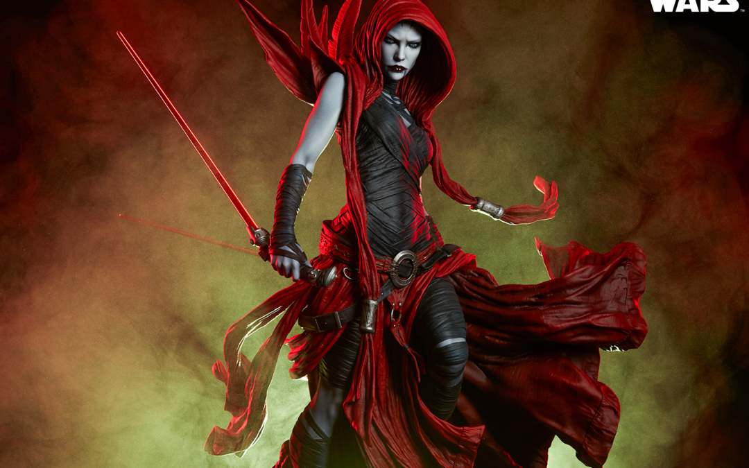 New Star Wars Asajj Ventress Mythos Statue available for pre-order!