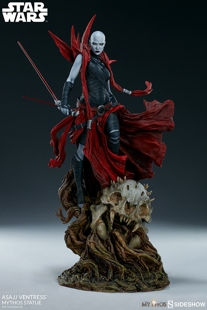 SW Asajj Ventress Mythos Statue 4