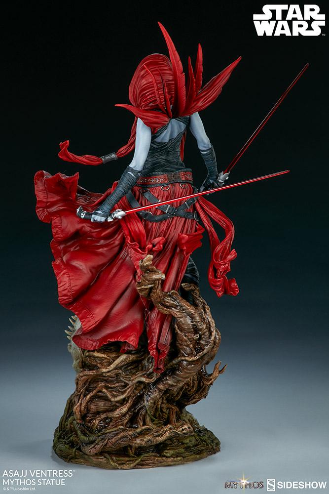 SW Asajj Ventress Mythos Statue 5