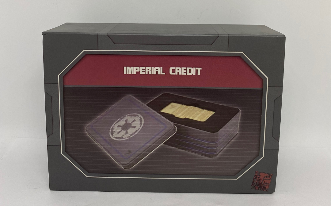 New Star Wars Galaxy's Edge Imperial Credit now in stock!