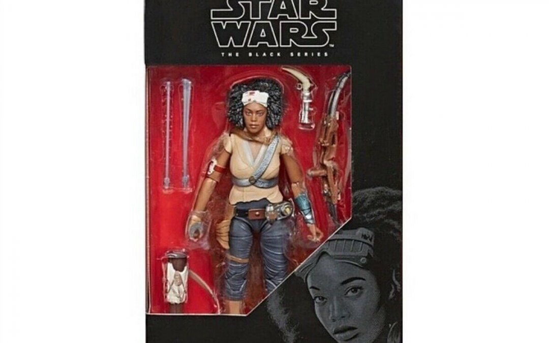 New Rise of Skywalker Jannah Black Series Figure available!