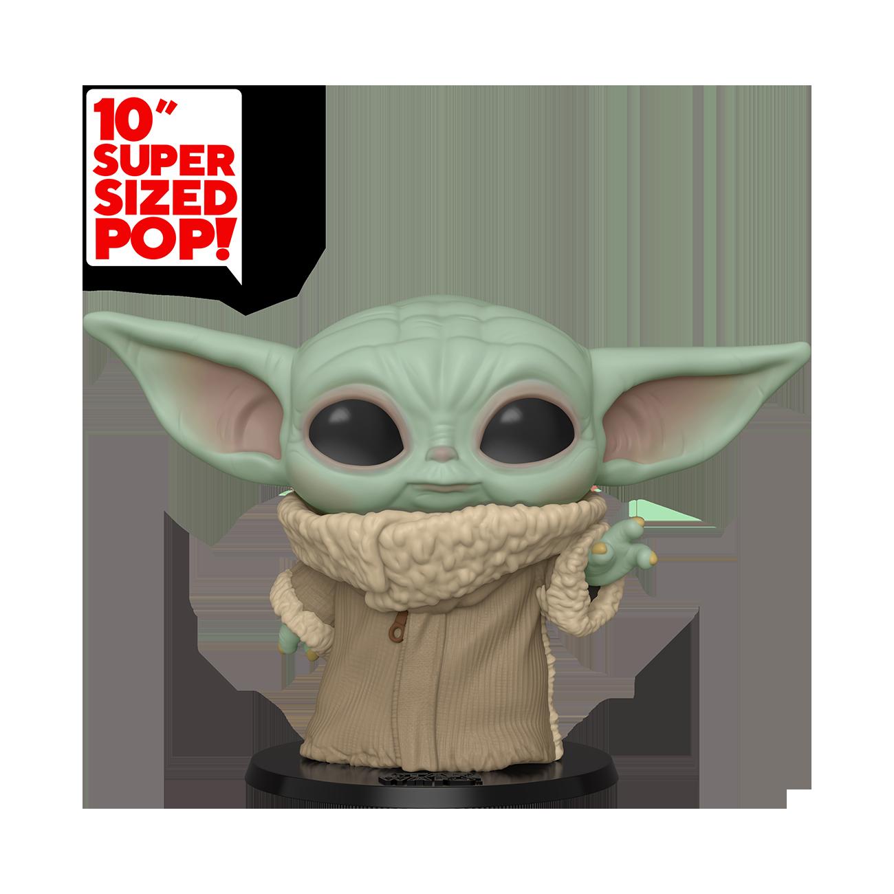 "TM Baby Yoda 10"" Funko Pop! Bobble Head Toy"