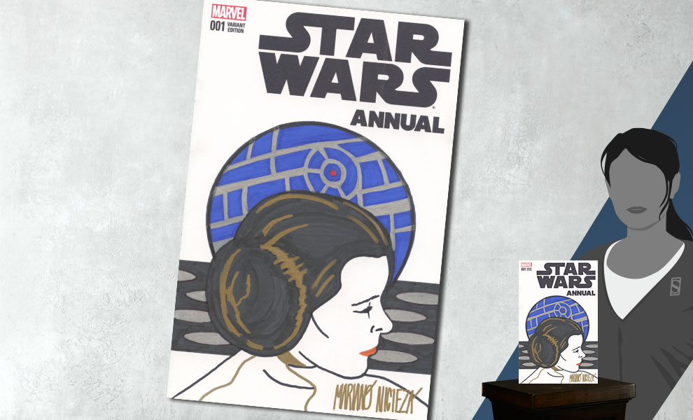 New Star Wars Annual #1 Princess Leia Sketch Cover Comic available for pre-order!
