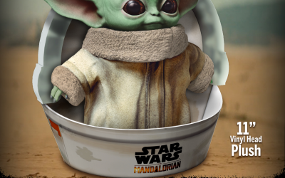 The Mandalorian Baby Yoda Plush Toy available for pre-order!