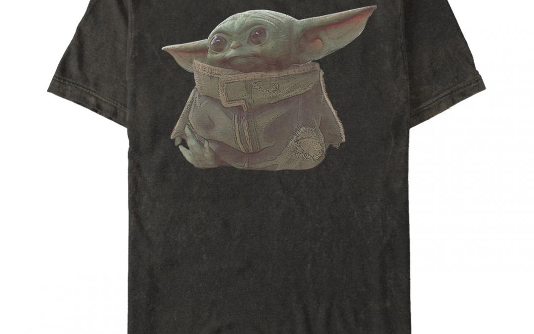 New The Mandalorian Baby Yoda Men's Portrait T-Shirt available!