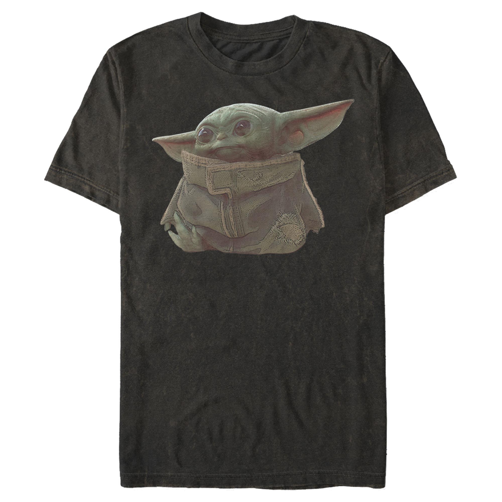 TROS Baby Yoda (The Child) Men's Portrait T-Shirt