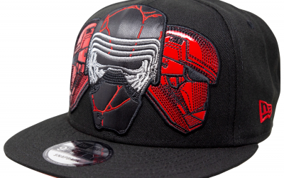 New Rise of Skywalker Leather Empire Trio 9Fifty Adjustable Hat available!