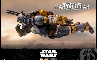 New Heavy Infantry Mandalorian 1/6th Scale Figure available for pre-order!