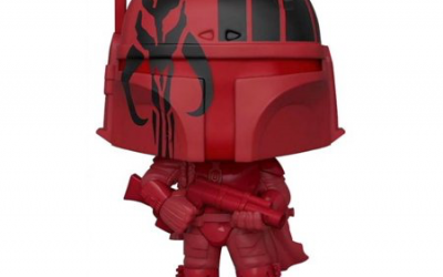 New Star Wars Super-Sized Red Boba Fett Bobble Head Toy available!
