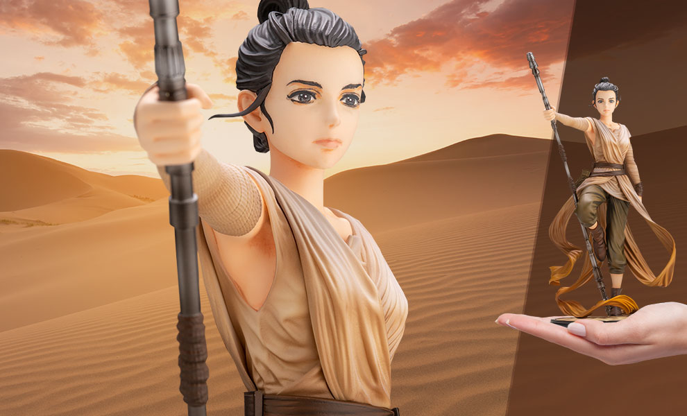 New Force Awakens Rey ARTFX Statue available for pre-order!