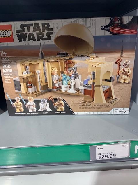 ANH Obi-Wan's Hut Lego set 4