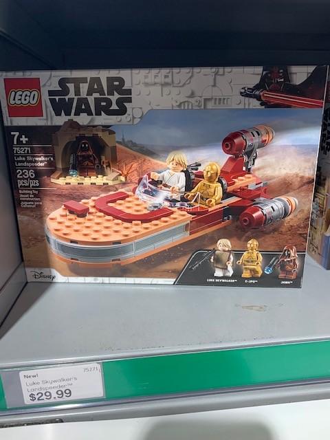 ANH Luke Skywalker's Landspeeder Lego Set 4
