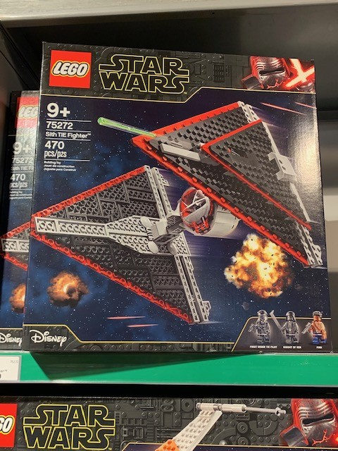 TROS Sith TIE Fighter Lego set 4