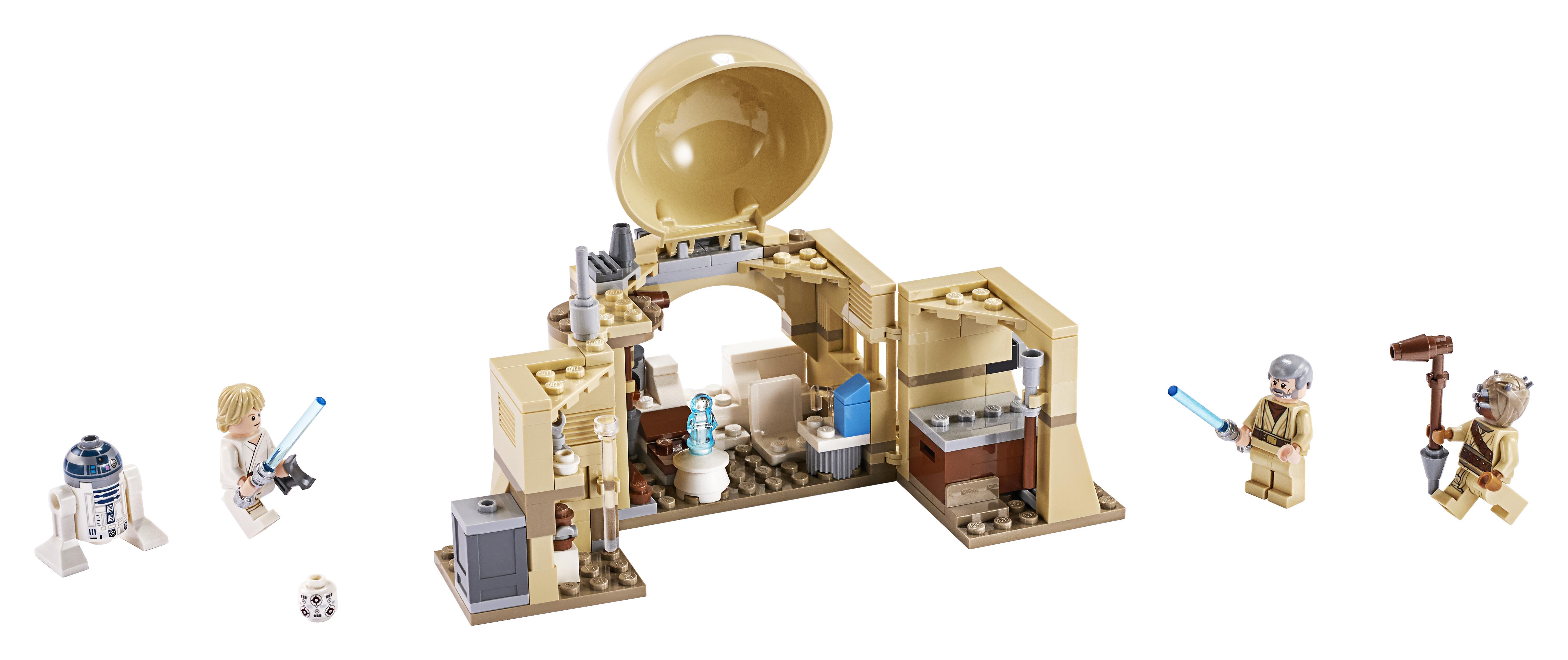 ANH Obi-Wan's Hut Lego set 3