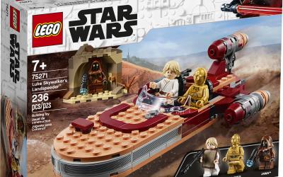 New A New Hope Luke Skywalker's Landspeeder Lego Set available!