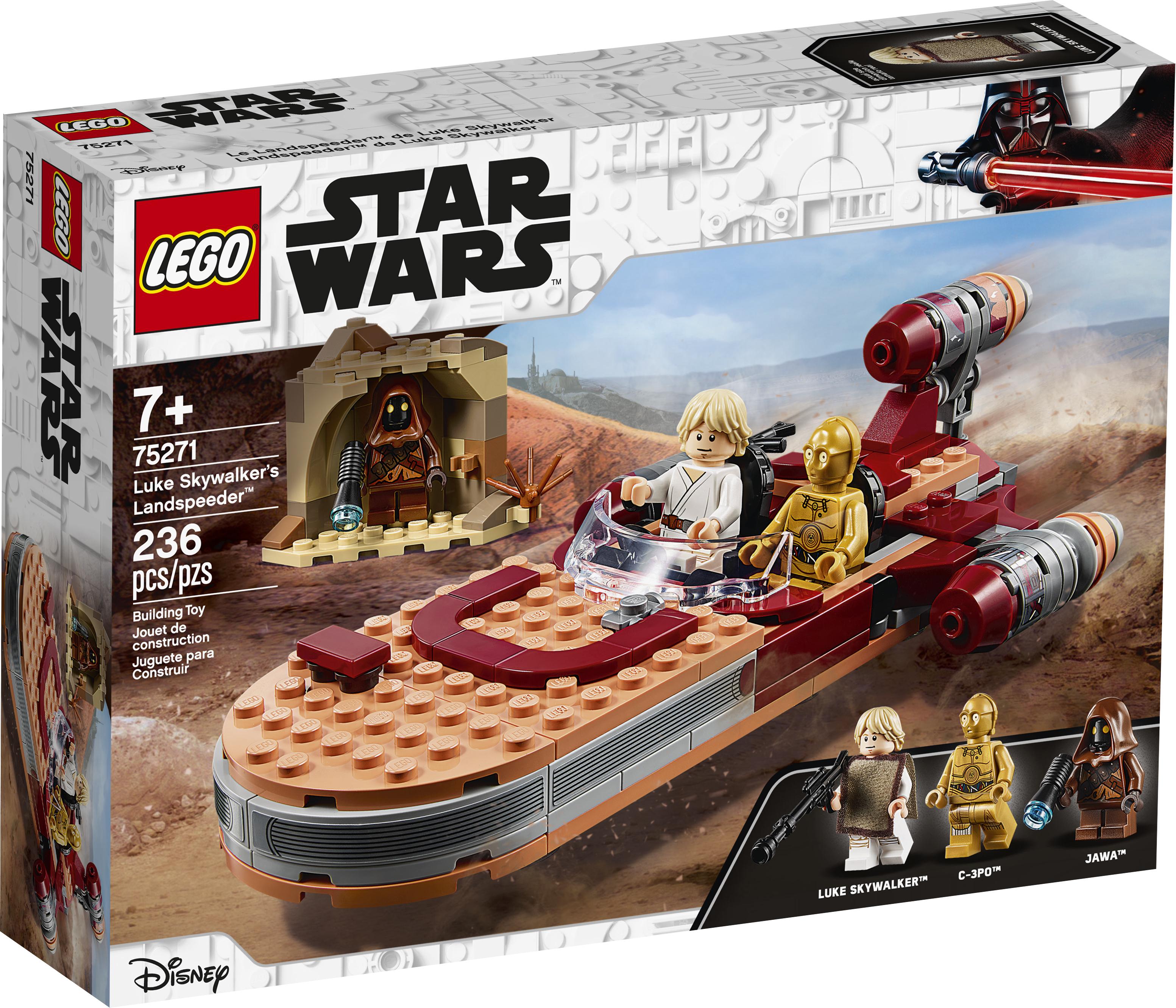 ANH Luke Skywalker's Landspeeder Lego Set 1