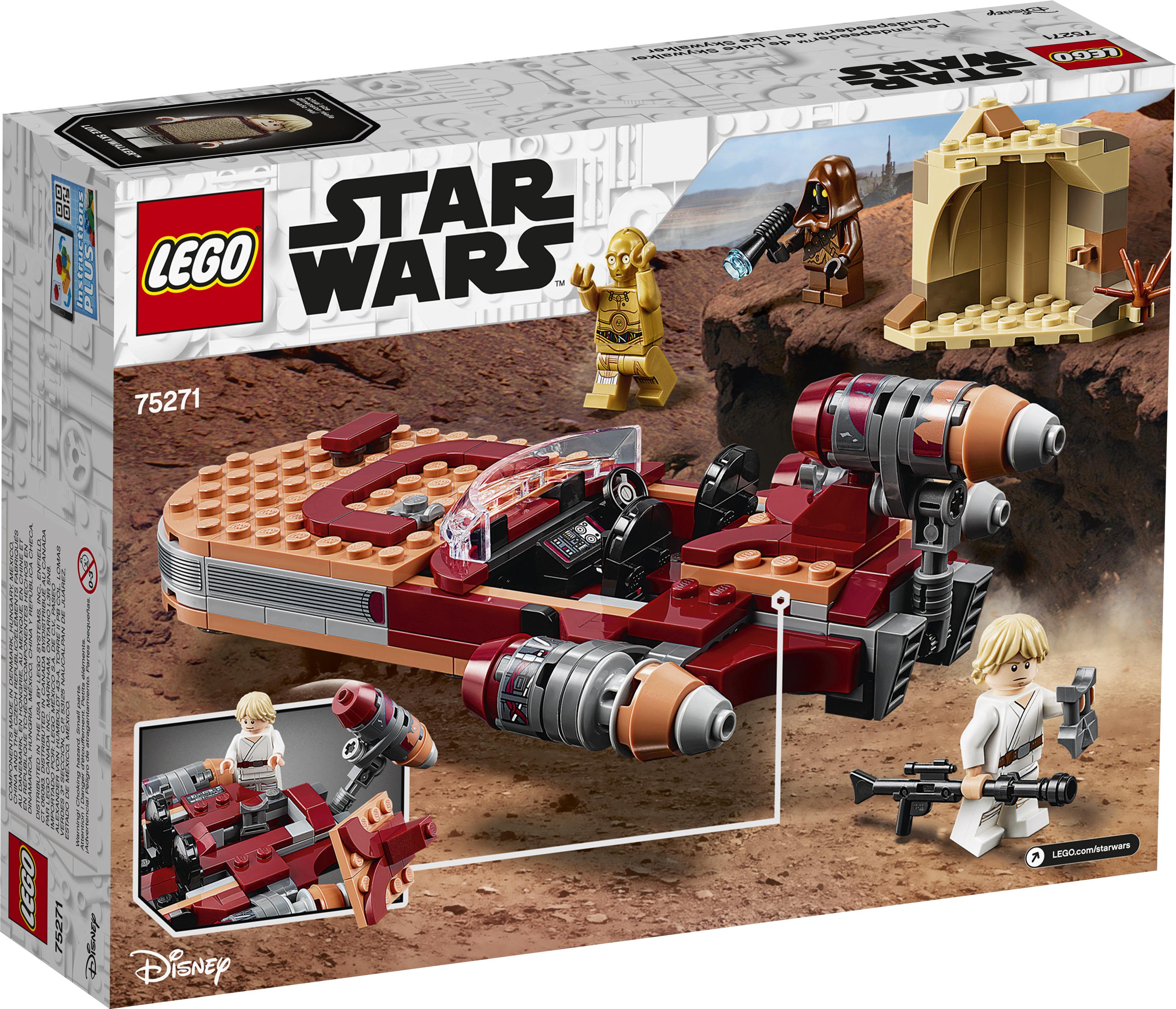 ANH Luke Skywalker's Landspeeder Lego Set 2