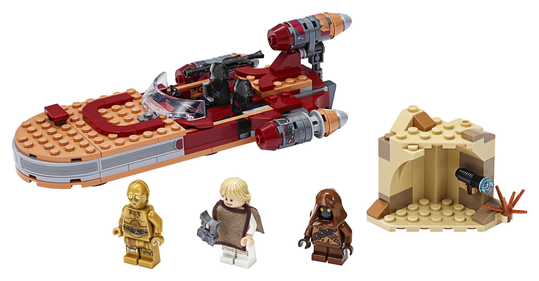 ANH Luke Skywalker's Landspeeder Lego Set 3