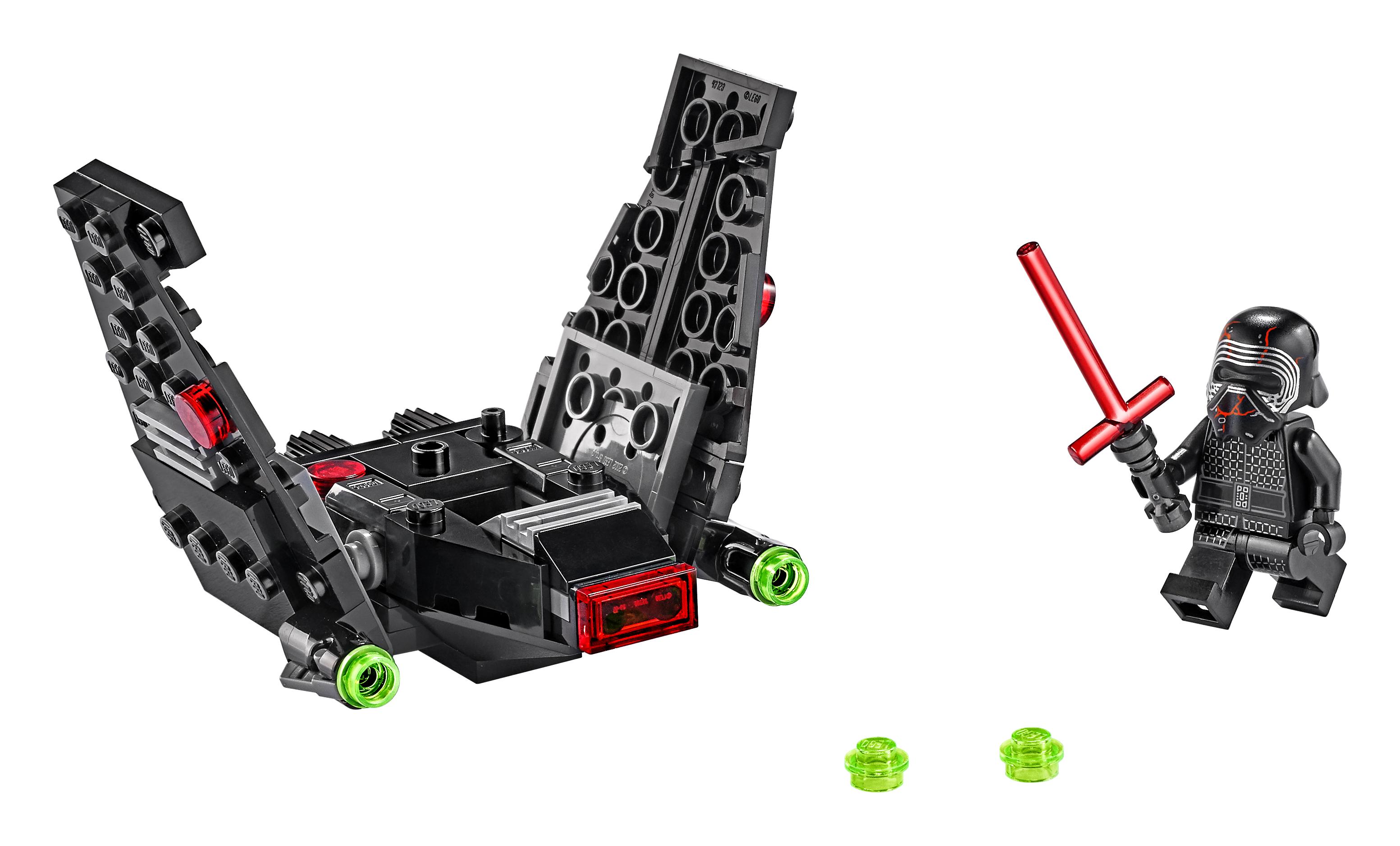 TROS Kylo Ren's Shuttle Microfighter Lego set 3