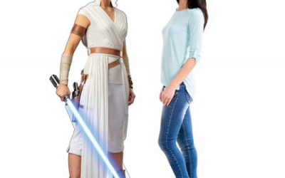 New Rise of Skywalker Rey Cardboard Standee available!