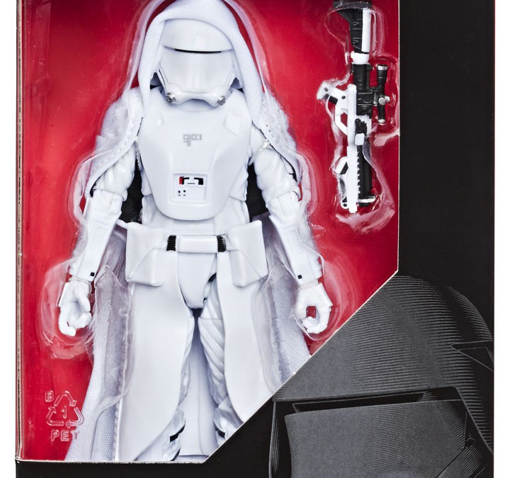 New Rise of Skywalker First Order Elite Snowtrooper Figure available!
