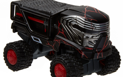 New Rise of Skywalker Kylo Ren All Terrain Character Car available!