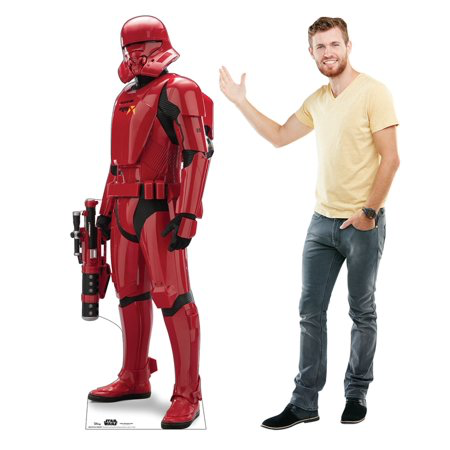 New Rise of Skywalker Sith Jet Trooper Cardboard Standee available!