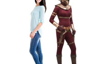 New Rise of Skywalker Zorii Cardboard Standee available!
