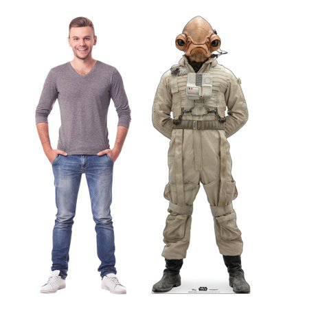 New Rise of Skywalker Mon Cal General Cardboard Standee available!