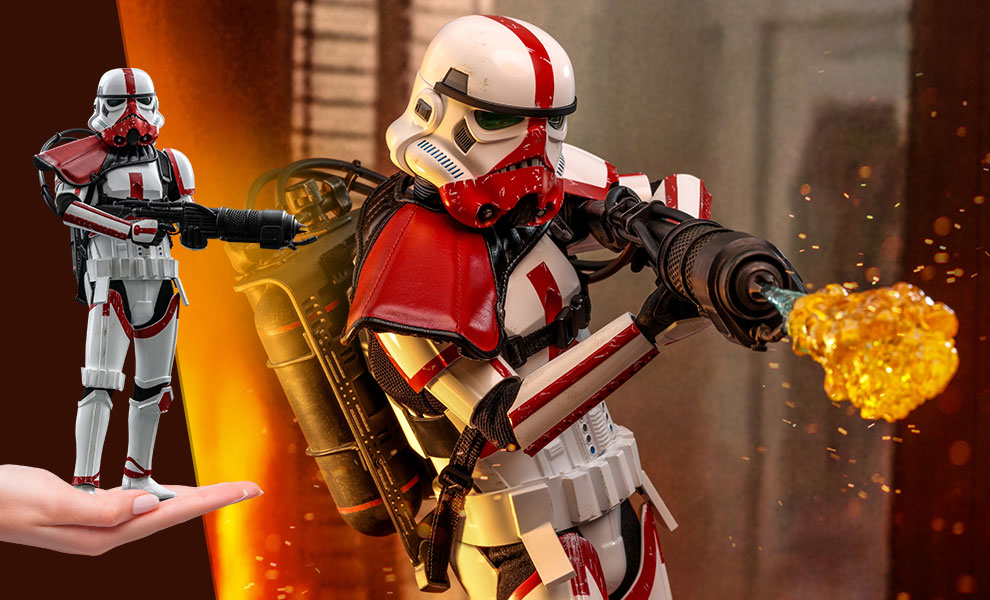TM Incinerator Stormtrooper 1/6th Scale Figure 1