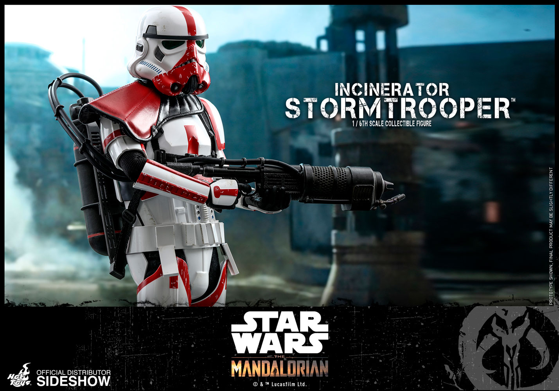 TM Incinerator Stormtrooper 1/6th Scale Figure 3