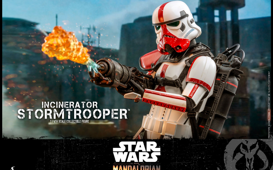 New Incinerator Stormtrooper 1/6th Scale Figure available for pre-order!